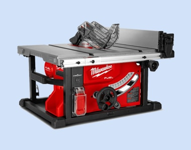 Red and black color Table Saw